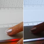 La tavoletta si spegne in un sol gesto e la funzione di memoria ricorda la luminosità precedente