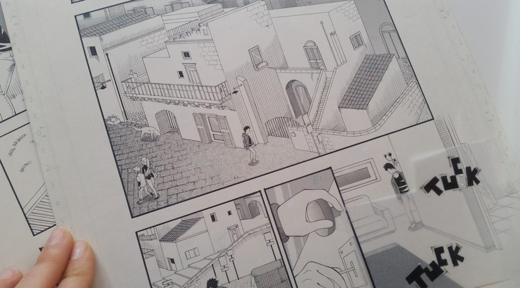 ...e il manga