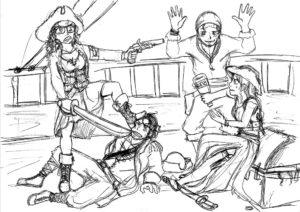 L'aspetto grafico dei personaggi è rimasto abbastanza fedele a quello delle prime bozze